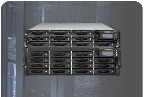 Affordable Fibre Channel storage