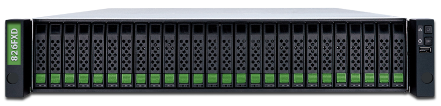 jetstor 826fxd 2U 26 bay all flash array