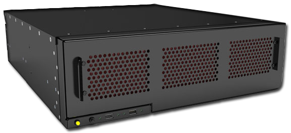 MaxRax 3U20 short depth rugged server
