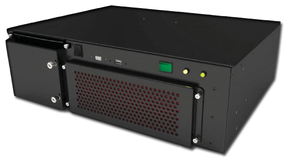 MaxRax 3U12 shortest depth rugged server