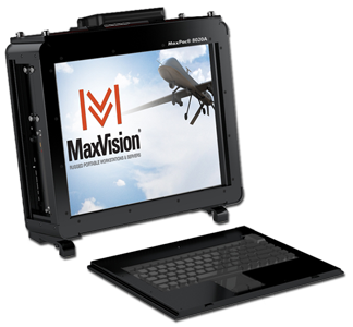 MaxPac 8050A Rugged Portable Workstation